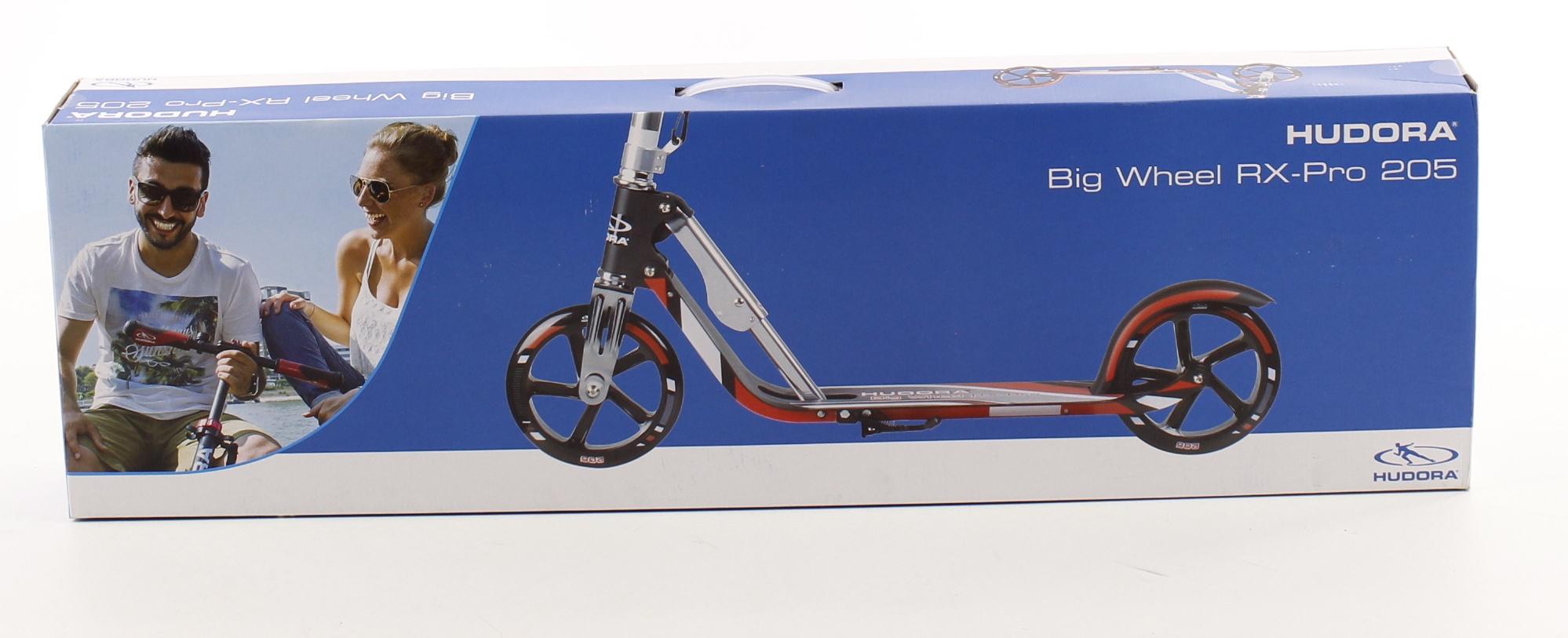 hulajnoga hudora big wheel rx pro 205 czerwona 100kg xxl sk adana. Black Bedroom Furniture Sets. Home Design Ideas