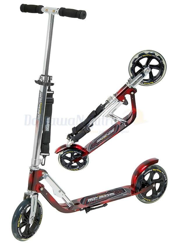 hulajnoga hudora 205mm big wheel mc 100kg xxl sk adana kolor czerwono czarny. Black Bedroom Furniture Sets. Home Design Ideas