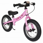 "Rowerek biegowy 12"" XL BIKESTAR GERMANY  sport kolor pink"