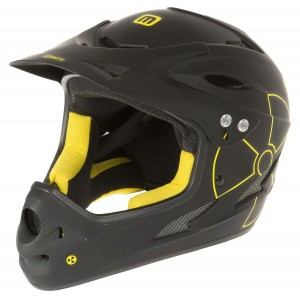 "Kask rowerowy Mighty full face enduro ""Fall Out"" Downhill"