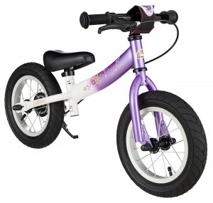 "Rowerek biegowy 12"" XL BIKESTAR GERMANY  sport kolor candy purple"